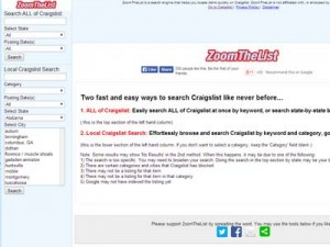 Another way to search Craigslist